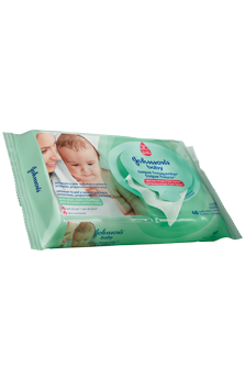 JOHNSON'S® baby toallitas húmedas toque fresco