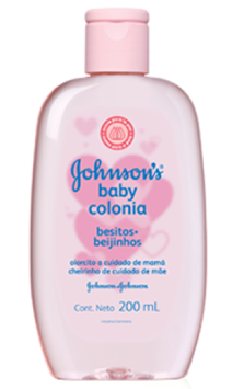 JOHNSON'S® baby colonia para bebés besitos