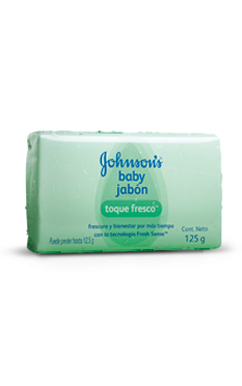 JOHNSON'S® baby jabón cremoso en barra toque fresco